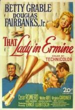 That Lady In Ermine (1948) afişi
