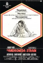 The Andromeda Strain (1971) afişi