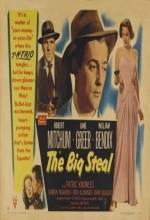 The Big Steal (1949) afişi