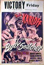 The Body Snatcher (1945) afişi