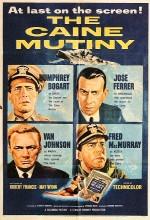 The Caine Mutiny (1954) afişi