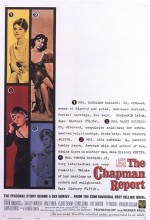 The Chapman Report (1962) afişi
