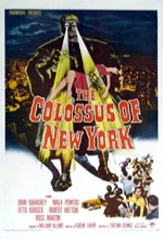 The Colossus Of New York (1958) afişi