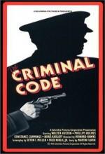 The Criminal Code (1931) afişi