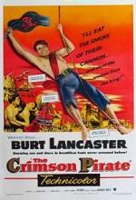 The Crimson Pirate (1952) afişi