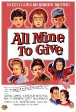 The Day They Gave Babies Away (1957) afişi