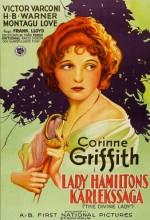 The Divine Lady (1929) afişi