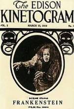Frankenstein (1910) afişi
