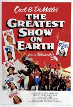 The Greatest Show On Earth (1952) afişi
