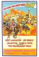 The Hallelujah Trail (1965) afişi
