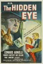The Hidden Eye (1945) afişi