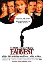 The Importance Of Being Earnest (2002) afişi