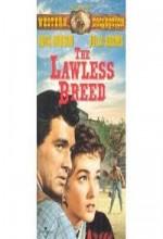 The Lawless Breed (1953) afişi