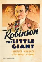 The Little Giant (1933) afişi