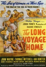 The Long Voyage Home (1940) afişi