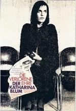The Lost Honor of Katharina Blum (1975) afişi