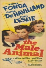 The Male Animal (1942) afişi