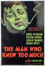 Çok Şey Bilen Adam (i) (1934) afişi