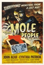 The Mole People (1956) afişi