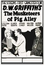 The Musketeers Of Pig Alley (1912) afişi