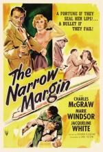 The Narrow Margin (1952) afişi