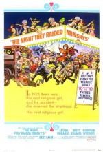 The Night They Raided Minsky's (1968) afişi