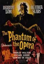 The Phantom Of The Opera (1962) afişi