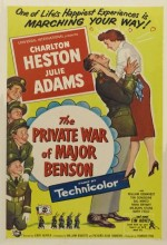 The Private War Of Major Benson (1955) afişi