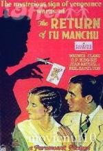 The Return Of Dr. Fu Manchu (1930) afişi