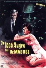 The Return Of Dr. Mabuse (1961) afişi