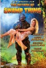 The Return Of Swamp Thing (1989) afişi