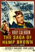 The Saga Of Hemp Brown (1958) afişi