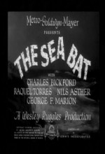 The Sea Bat (1930) afişi