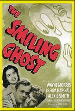 The Smiling Ghost (1941) afişi