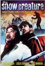 The Snow Creature (ı) (1954) afişi