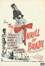 The Thrill Of Brazil (1946) afişi