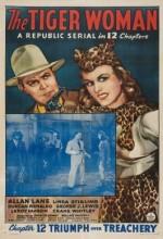 The Tiger Woman (1944) afişi