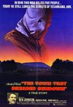 The Town That Dreaded Sundown (1977) afişi