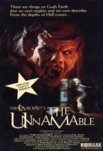 The Unnamable (1988) afişi