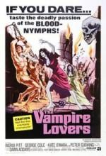The Vampire Lovers (1970) afişi