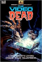 The Video Dead (1987) afişi