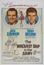 The Wackiest Ship in The Army (1960) afişi