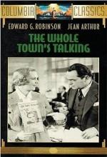 The Whole Town's Talking (1935) afişi