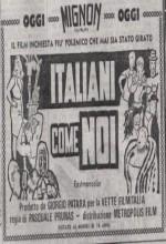 The Wild Weird Wonderful ıtalians (1964) afişi