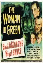 The Woman in Green (1945) afişi