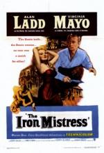 The Iron Mistress (1952) afişi