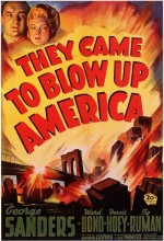 They Came To Blow Up America (1943) afişi