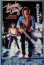 Thunder Alley (1985) afişi