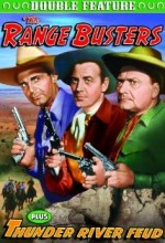 Thunder River Feud (1942) afişi