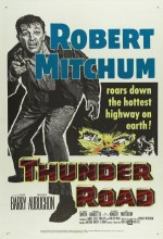 Thunder Road (1958) afişi